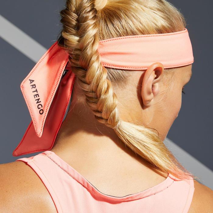 Tennis Bandana - Black/Orange