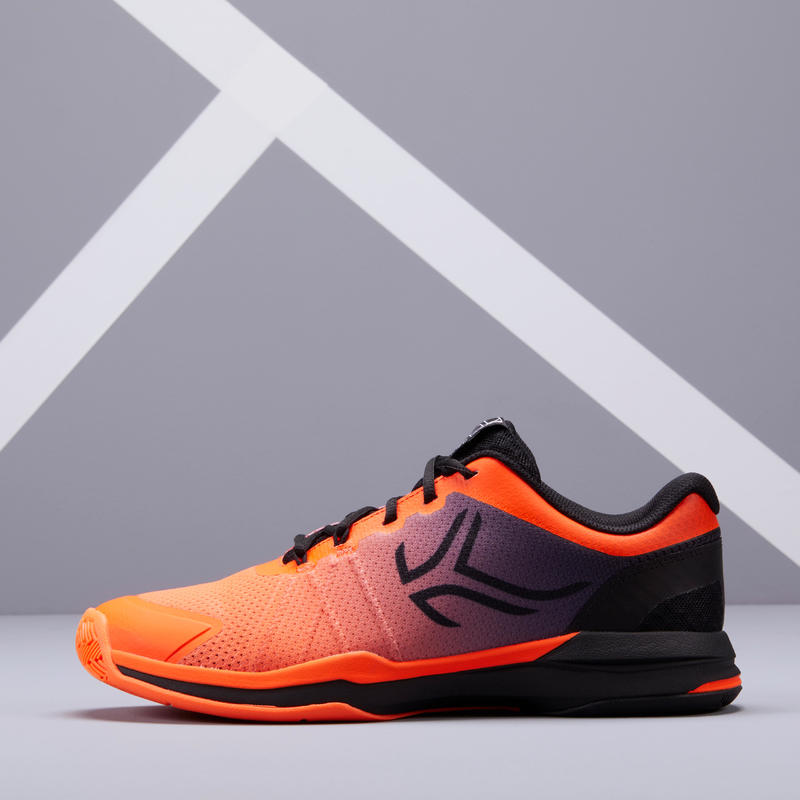 Men's Multi-Court Tennis Shoes TS590 - Orange/Black
