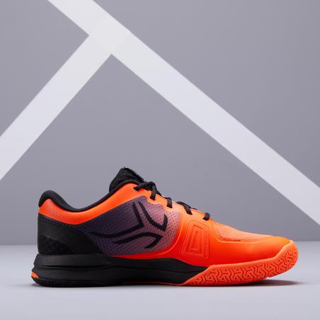 Sepatu Tenis Pria Untuk Berbagai Lapangan TS590 - Jingga/Hitam
