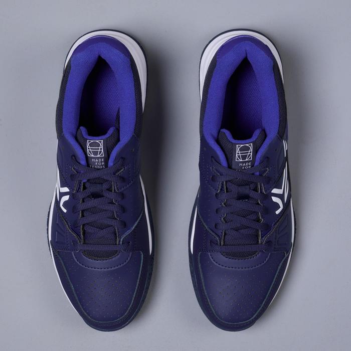 男款多場地適用款網球鞋TS160 - 海軍藍