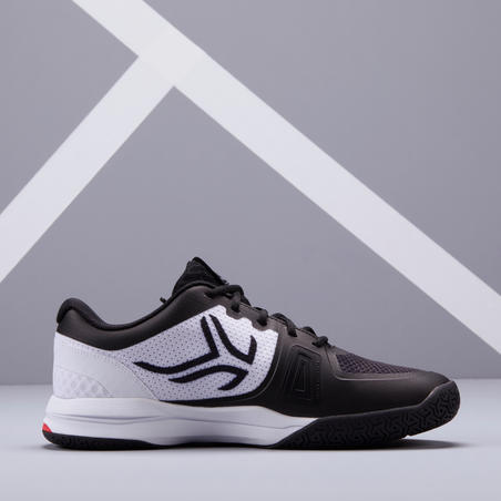 Men's Multi-Court Tennis Shoes TS590 - White/Black