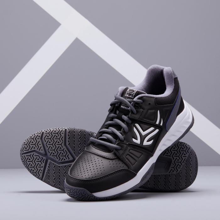 多場地適用款網球鞋TS160 - 黑色