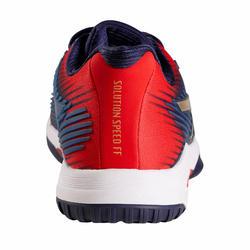 Tennisschoenen voor heren Gel-Solution Speed FF multicourt marineblauw