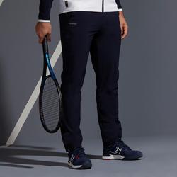 Tennisbroek voor heren TPA 500 marineblauw