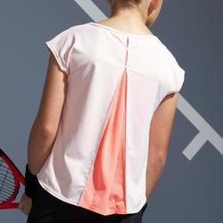 女童款T恤500-粉紅色
