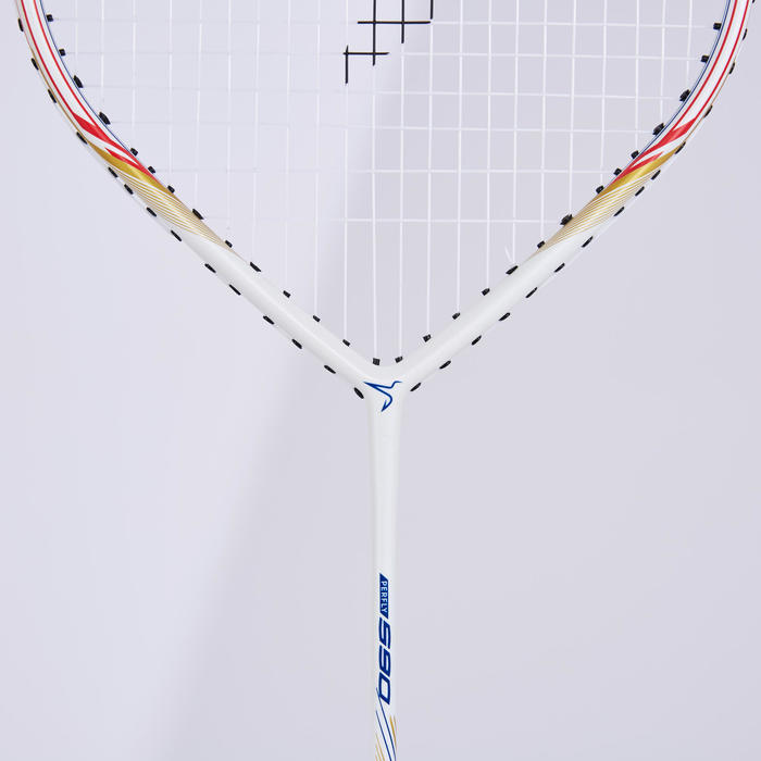 ADULT BADMINTON RACKET BR 590 POWER WHITE