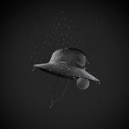 Waterproof Mountain Trekking Hat | TREK 900 Dark Grey