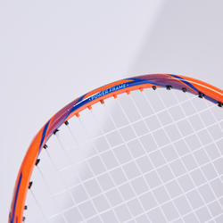 ADULT BADMINTON RACKET BR 590 POWER DARK ORANGE