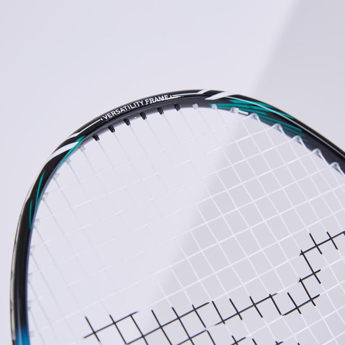 成人款羽球拍BR 590黑色及天藍色配色