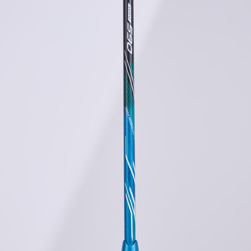 แร็คเกตแบดมินตันสำหรับผู้ใหญ่รุ่น BR 590 (สีดำ/ฟ้า Sky Blue)