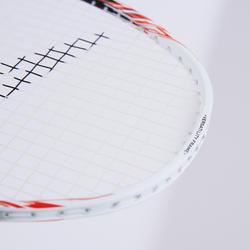 Badmintonracket voor volwassenen BR 560 Lite wit/rood/zwart