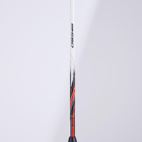 Raquette De Badminton Adulte BR 560 Lite - Blanc/Rouge/Noir