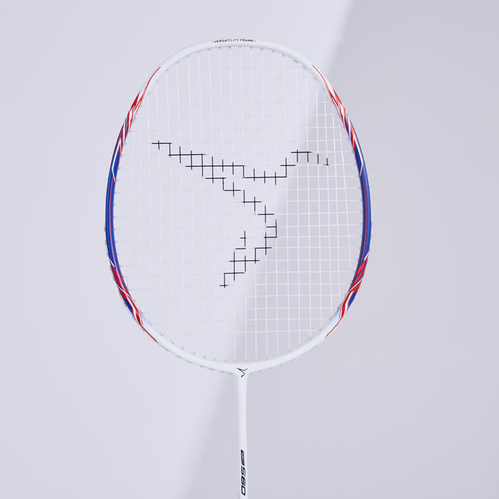 Badmintonracket voor volwassenen BR 560 Lite blauw/roze
