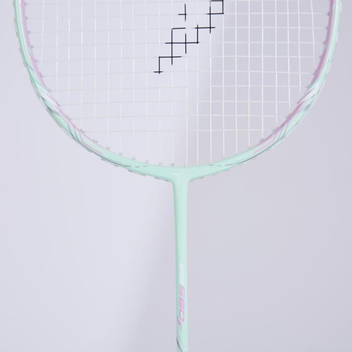Badmintonracket voor kinderen BR 560 Lite mint/roze