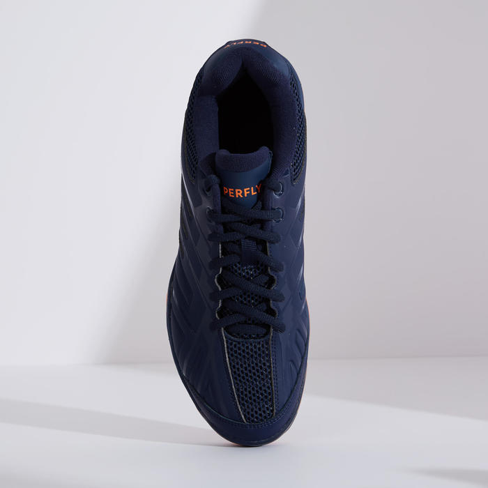 Chaussures De Badminton BS590 Max Comfort - Marine/Orange