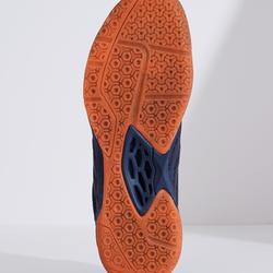 Badmintonschoenen voor heren BS 590 Max Comfort marineblauw/oranje