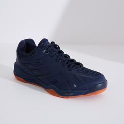 Chaussures De Badminton BS590 Max Comfort - Marine/Orange