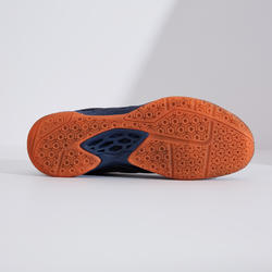MEN BADMINTON SHOES MAX COMFORT BS 590 NAVY ORANGE