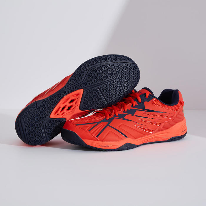 MEN BADMINTON SHOES MAX COMFORT BS 590 RED NAVY