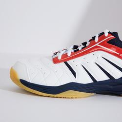 男款輕量羽球鞋BS 560-白紅配色