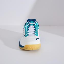 男款輕量羽球鞋BS 560白綠配色