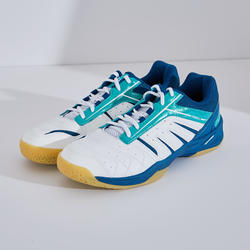 MEN BADMINTON SHOES BS 560 LITE WHITE GREEN