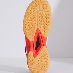 Chaussures De Badminton Junior BS 560 Lite - Blanc/Rouge
