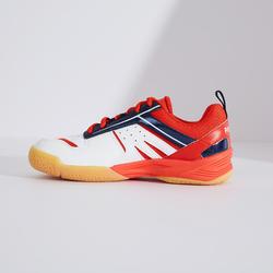 Badmintonschoenen voor kinderen BS 560 Lite wit/rood