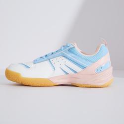 青少年款羽球鞋BS 560-白粉配色