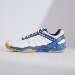 WOMEN BADMINTON SHOES BS 560 LITE WHITE PINK