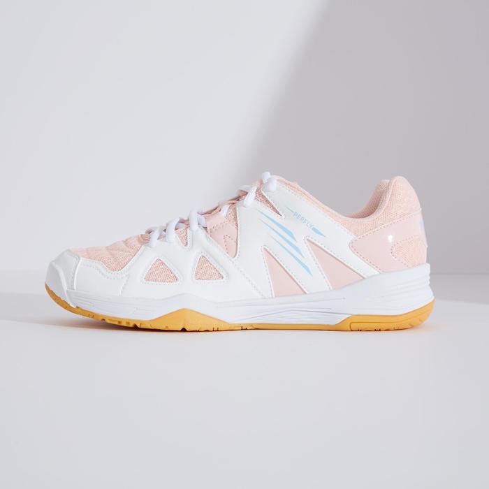 女款羽球鞋BS 530-白色及粉紅配色