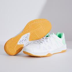 女款羽球鞋BS 530白綠配色