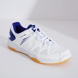 Chaussures De Badminton pour Femme BS530 - Blanc/Bleu