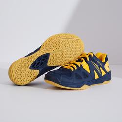 Badmintonschoenen voor kinderen BS 500 zwart/geel