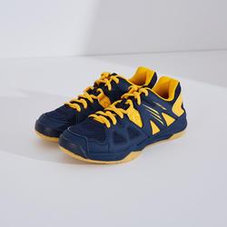 Chaussures De Badminton Junior BS 500 - Noir/Jaune