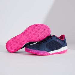Badmintonschoenen voor dames BS 190 marineblauw/roze