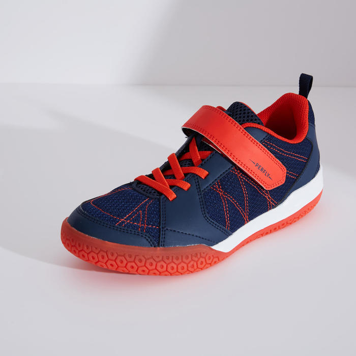 Chaussures De Badminton Junior BS 160 - Marine/Rouge