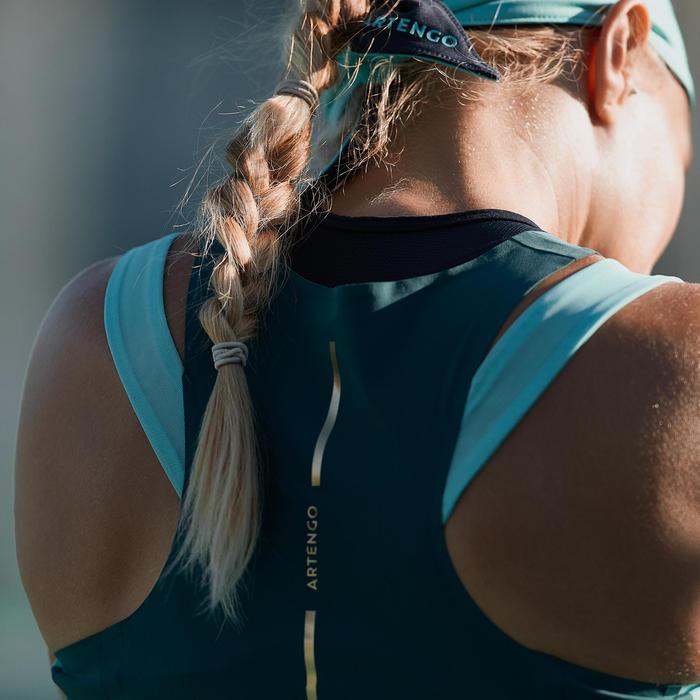 Tennis Bandana - Navy/Turquoise