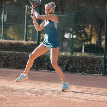Tennisshorty voor dames BOX 900 turquoise