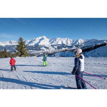 兒童滑雪長褲PNF 500 - 軍藍色