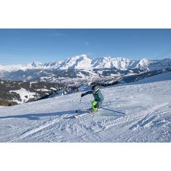 Ski-jas voor kinderen 500 groen