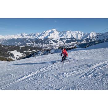 Ski-jas voor kinderen 500 rood/bordeaux