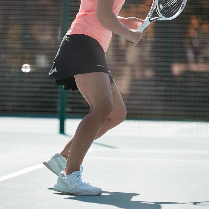 Tennisrokje SK DRY 100 zwart