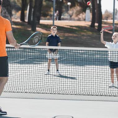 Welcher Tennisschläger für Kinder?