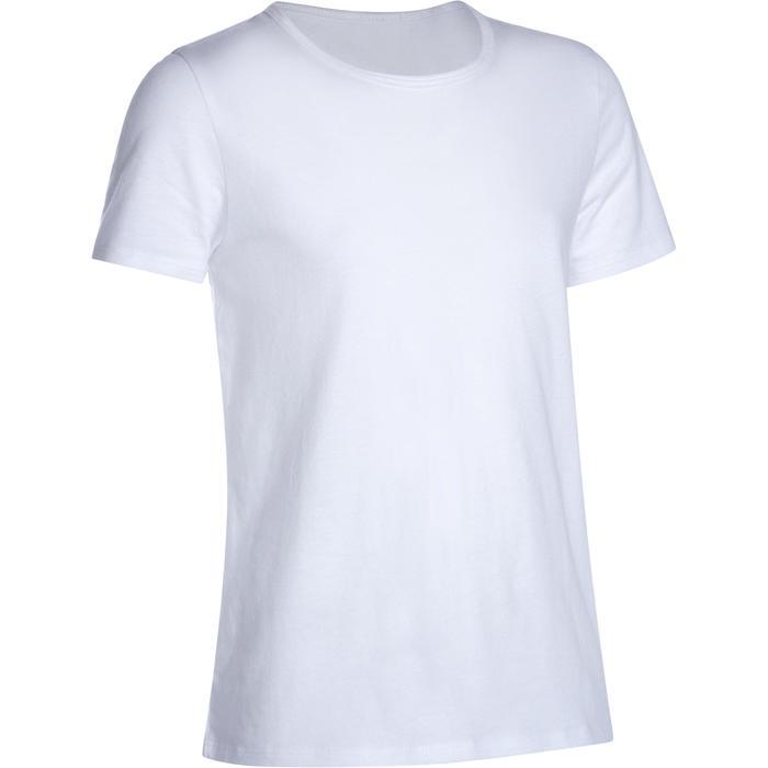 T-Shirt Basic Kinder weiss
