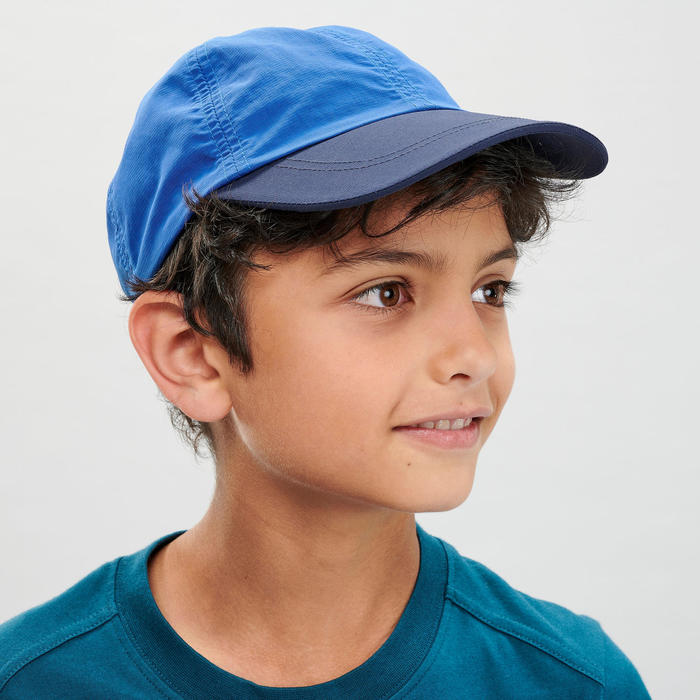 兒童款健行帽MH100-藍色