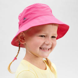 Wandelhoedje voor kinderen MH 2 tot 6 jaar roze