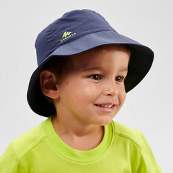 Kids' 2 to 6 Years Hiking Hat MH - navy