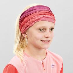 Hoofdband MH500 voor kinderen roze/paars