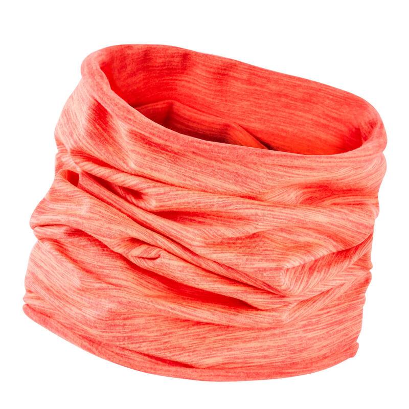 Running Neck Warmer - neon orange coral